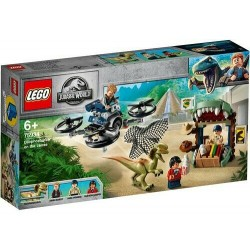 LEGO 75934 JURASSIC WORLD DILOPOSAURO IN FUGA ISOLA NUBLAR GIU 2019