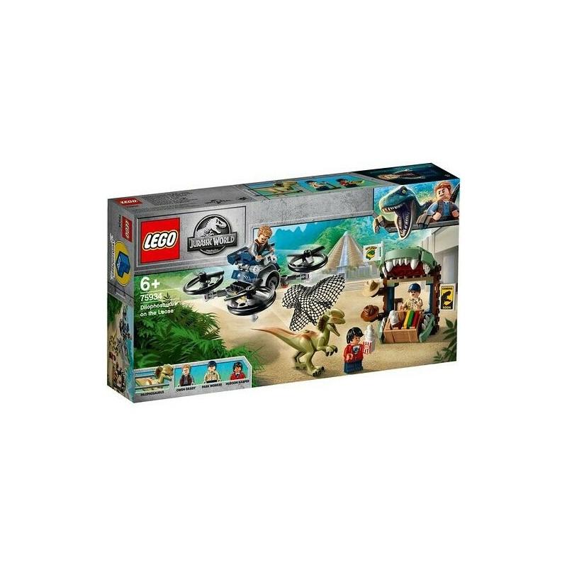 LEGO 75934 JURASSIC WORLD DILOPOSAURO IN FUGA ISOLA NUBLAR GIU 2019