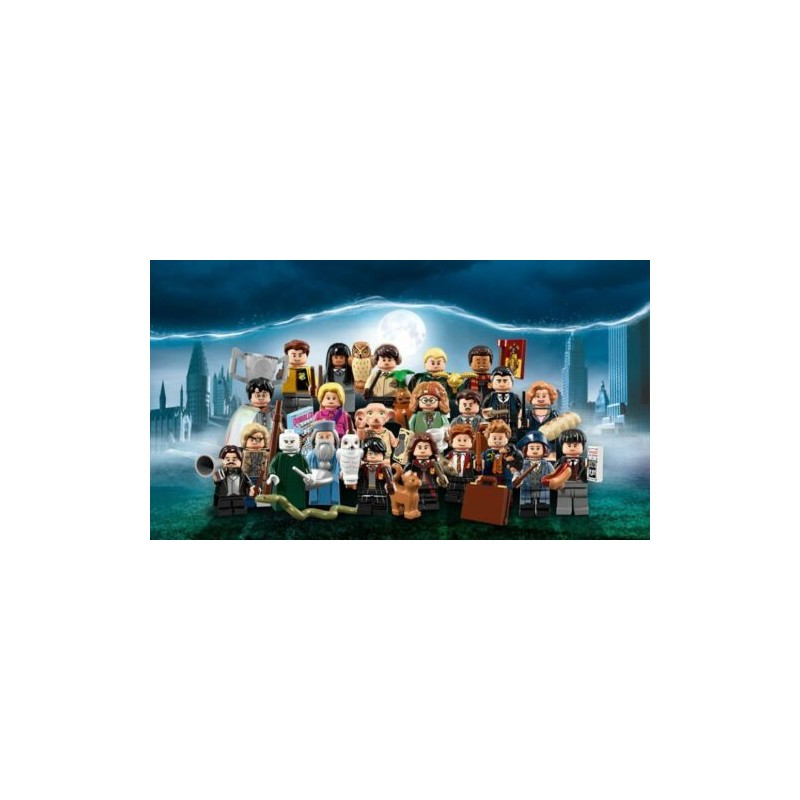 LEGO 71022 WIZARDING WORLD SERIE 22 PERSONAGGI HARRY POTTER E ANIMALI FANTASTICI