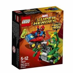 LEGO SUPER HEROES 76071 Mighty Micros: Spider-Man contro Scorpione - MARVEL