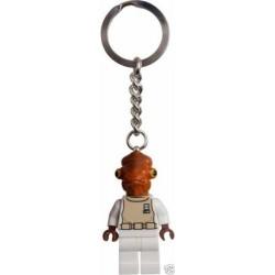 LEGO 852836 STAR WARS ADMIRAL ACKBAR Key Chain KEY CHAIN KEYRING PORTACHIAVI