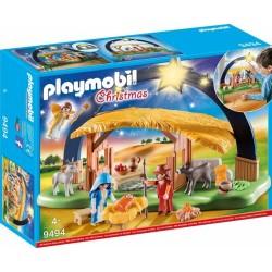 PLAYMOBIL CHRISTMAS 9494 PRESEPE ILLUMINATO NATALE