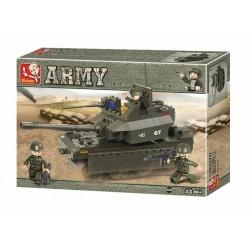 ARMY G7 CARRO ARMATO MATTONCINI M38-B50287 102 pezzi
