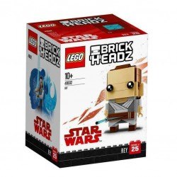 LEGO BRICKHEADZ 41602 REY STAR WARS GUERRE STELLARI GEN - 2018