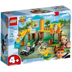 LEGO JUNIORS 10768 Avventura al parco giochi di Buzz e Bo  TOY STORY 4 - MAG ...