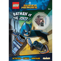 LEGO SUPER HEROES LIBRO BATMAN VS JOKER ACTIVITY BOOK MINIFIGURE ESCLUSIVA