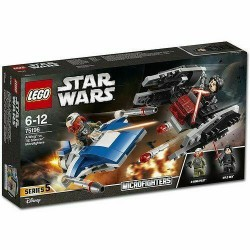 LEGO STAR WARS 75196 Microfighter 5 DUAL PACK A-WINGS VS TIE SILENCER GEN - 2018