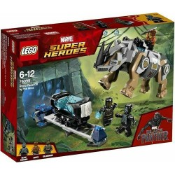LEGO SUPER HEROES 76099 RHINO FACE-OFF BY THE MINE GEN - 2018
