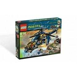 LEGO 8971 AGENTS Aerial Defense USATO - N