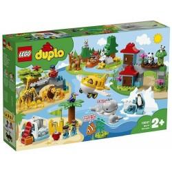 LEGO 10907 DUPLO WORLD ANIMALS ANIMALI DEL MONDO GIU 2019