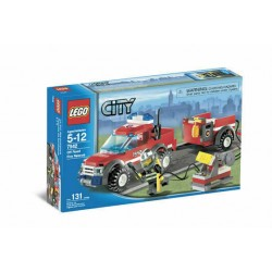 LEGO CITY 7942 PICK-UP DEI POMPIERI - USATO - N
