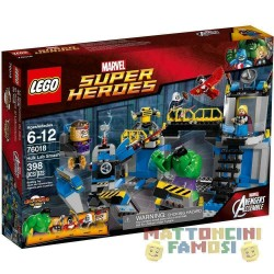 LEGO 76018 IL LABORATORIO DI HULK MARVEL SUPER HEROES - USATO - N