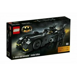 LEGO 40433 SUPER HEROES 1989 BATMOBILE LIMITED EDITION scatola legg. rovininata