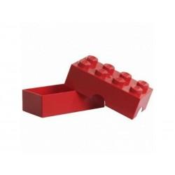 STORAGE SCATOLA CONTENITORE ROSSO RED 2X4 LUNCH BOX PORTA MERENDA
