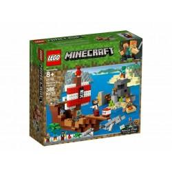 LEGO 21152 MINECRAFT AVVENTURA SUL GALEONE DEI PIRATI - 2019