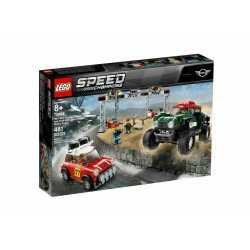 LEGO 75894 SPEED CHAMPIONS 1967 MINI COOPER S RALLY E 2018 MINI JOHN COOPER ...