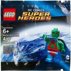 LEGO SUPER HEROES 5002126 MARTIAN MANHUNTER NUOVO NEW POLYBAG