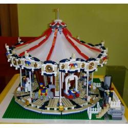 LEGO 10196 GRAND CAROUSEL ADVANCED MODELS FAIRGROUND POWER FUNCTIONS