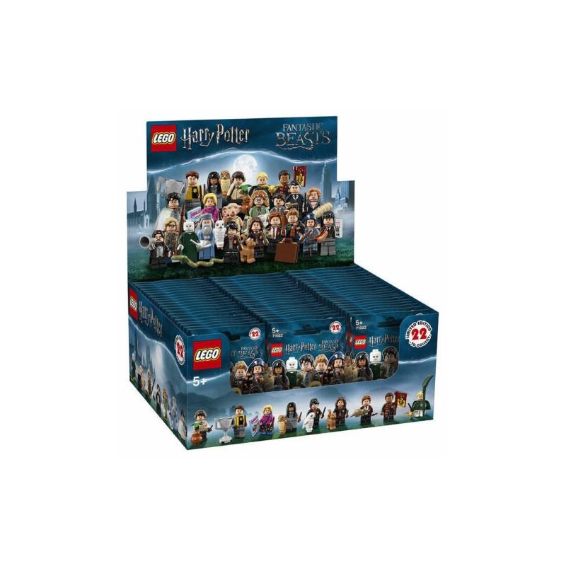 LEGO 71022 WIZARDING WORLD BOX 60 PERSONAGGI HARRY POTTER E ANIMALI FANTASTICI