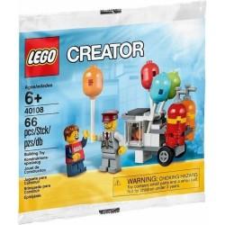 LEGO CREATOR 40108 BALLON CART STAND PALLONCINI POLYBAG - c