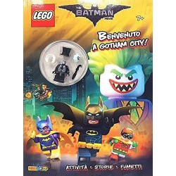 LEGO RIVISTA BATMAN THE MOVIE BENVENUTI IN GOTHAM CITY  EXCLUSIVE MINIFIGURE
