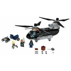 LEGO 76162 MARVEL - INSEGUIMENTO SULL'ELICOTTERO DELLA VEDOVA NERA