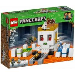 LEGO MINECRAFT 21145 L'ARENA DEL TESCHIO SET - 2018