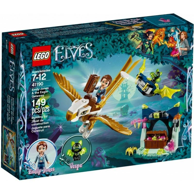 LEGO ELVES 41190 La fuga sull'aquila di Emily Jones MAR - 2018