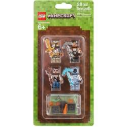 LEGO 853610 MINECRAFT SKIN PACK 2 ACCESSORY SET MINIFIGURES ESCLUSIVE