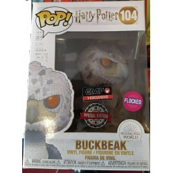 FUNKO POP 104 HARRY POTTER BUCKBEAK FLOCKED EMP EXLUSIVE SPECIAL EDITION