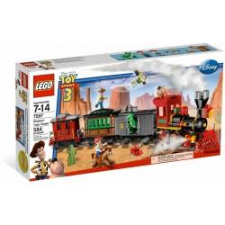 LEGO 7597 TOY STORY 3 WESTERN TRAIN - USATO - N