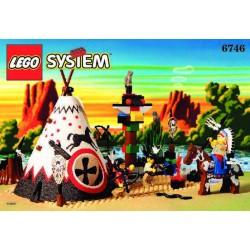 LEGO SYSTEM 6746 WESTERN COWBOY INDIANI - USATO - N
