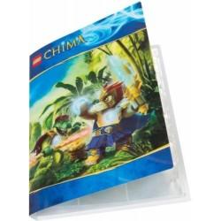 LEGO THE LEGENDS OF CHIMA 850598 GAME CARD BINDER ALBUM CARTE SET ESCLUSIVO