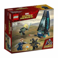 LEGO MARVEL SUPER HEROES 76101 Outrider Dropship Attack Avengers MAR - 2018