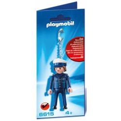 PLAYMOBIL 6615 PORTACHIAVI POLIZIOTTO – t