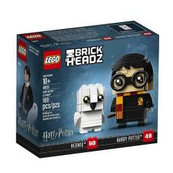 LEGO BRICKHEADZ 41615 WIZARDING WORLD HARRY POTTER & HEDWIG LUG 2018