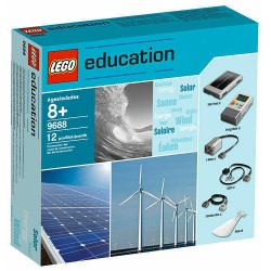 LEGO 9688 EDUCATION RENEWABLE ENERGY ADD-ON SET ENERGIA SOLARE MINDSTORMS