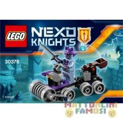 LEGO 30378 NEXO KNIGHTS POLYBAG QUARTIER GENERALE DI SHRUNKEN ESCLUSIVO 2017