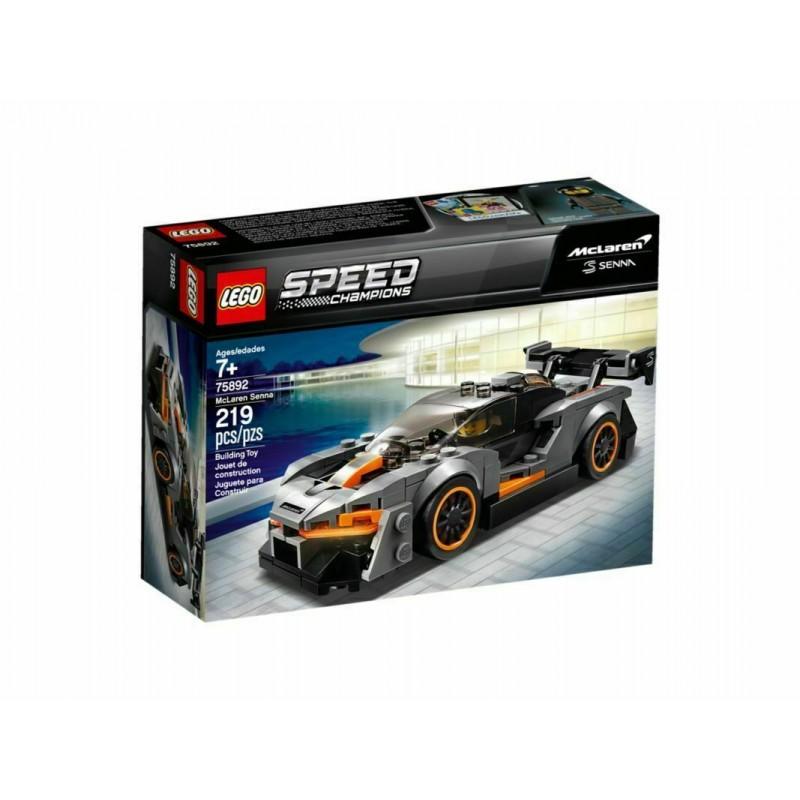 LEGO SPEED CHAMPIONS  75892 MCLAREN SENNA  - 2019