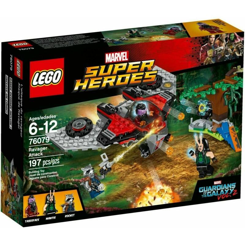LEGO MARVEL SUPER HEROES 76079 L'ATTACCO DEL RAVAGER 2017
