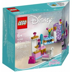 LEGO 40388 KIT COSTUMI MINI DOLL INTERNO CASTELLO DISNEY PRINCESS 2018 SET ES...