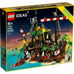 LEGO 21322 IDEAS  30 I PIRATI DI BARRACUDA BAY SUBITO DISPONIBILE