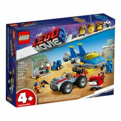 LEGO 70821 THE MOVIE 2 EMMET E L'OFFICINA AGGIUSTATUTTO DI BENNY! GEN 2019