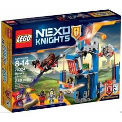 LEGO 70324 NEXO KNIGHTS LA BIBLIOTECA DI MERLOK ESCLUSIVO SCATOLA PICCOLI SEGNI