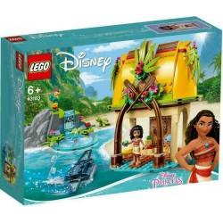 LEGO 43183 DISNEY PRINCESS MOANA LA CASA SULL'ISOLA DI VAIANA SET ESCLUSIVO