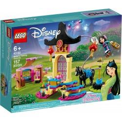 LEGO 43182 DISNEY PRINCESS IL CAMPO DI ADDESTRAMENTO DI MULAN SET ESCLUSIVO