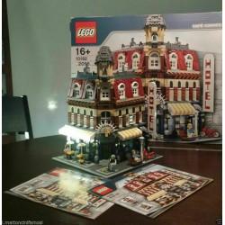 LEGO 10182 CAFE' CORNER USATO COME NUOVO SPECIALE COLLEZIONISTI MODULAR BUILDING