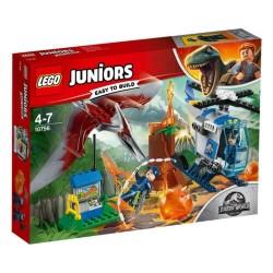 LEGO 10756 JUNIORS JURASSIC WORLD Pteranadon Escape MAG 2018