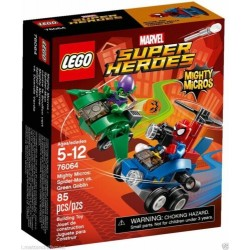 LEGO 76064 Spider-Man vs. Green Goblin MARVEL Super Heroes Mighty Micros