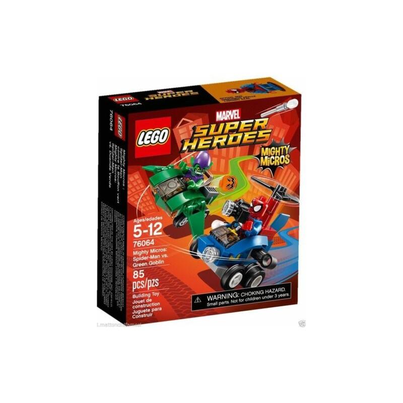 LEGO 76064 Spider-Man vs. Green Goblin MARVEL Super Heroes Mighty Micros